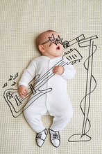 Little Baby Girl Sketched As Rock Star