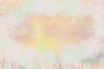 watercolor pattern background. vintage style illustration art modern  colorful abstract design