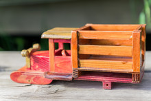 Details Of A Wooden Truck Toy ...