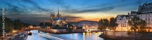 Photo sur Toile Paris Notre Dame de Paris, France