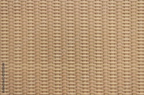Fotografie, Obraz  Wicker texture for graphic resources.  Tan brown weaved wicker.