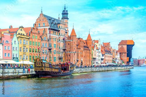 Obraz  Polen - Europa - Urlaub - Tourismus - Danzig - fototapety do salonu