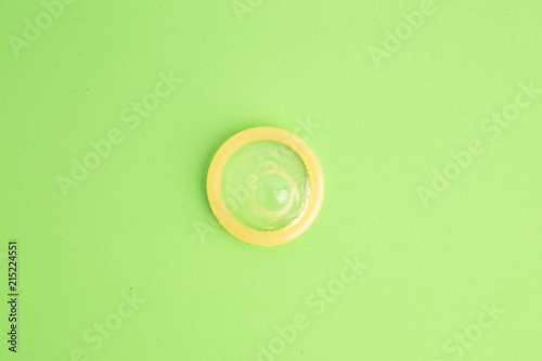 condom in colorful background Fototapete