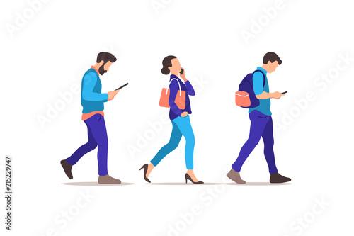 Fotografía  Young people walking
