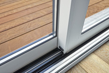 Sliding Glass Door Detail And ...