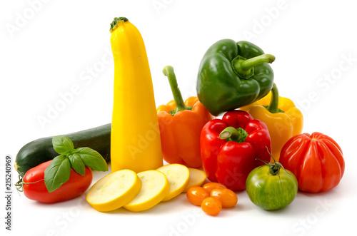 Slika na platnu Zucchini, Paprika, Tomaten