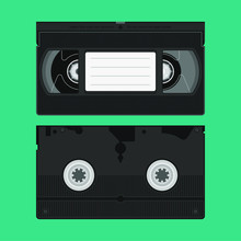 High Detailed VHS Video Tape C...