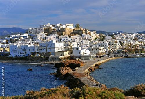 Платно Chora old town, Naxos island, Greece