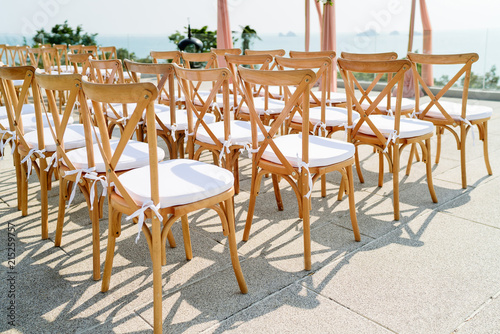 Terrific Wooden Folding Lawn Chairs With White Fabric Seat For Inzonedesignstudio Interior Chair Design Inzonedesignstudiocom