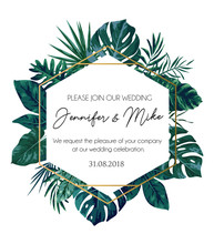 Save Our Date Wedding Invitati...