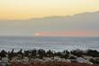 Beautiful sunset over Las Galletas