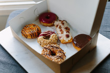 Box Of Assorted Pretty Donuts