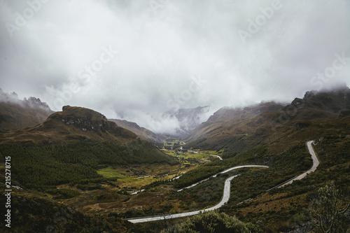 Fotobehang Landschappen Mountain Landscape