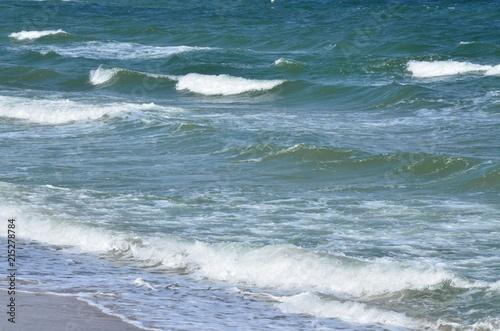 Fotografija  Hohe Wellen an der Ostsee