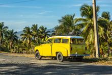 Old Yellow Car