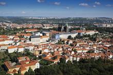 Scenic Overview Of Mala Strana, City Of Prague, Czech Republic