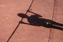 The Shadow Of A Teenage Girl