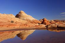 Sandstone Rock Formations Refl...