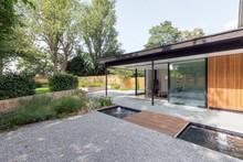 Modern Garden Room Viewed From...