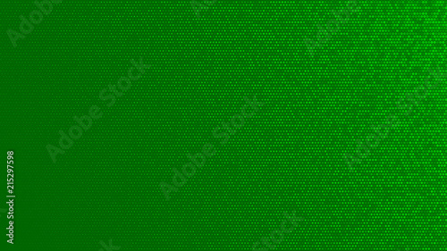 Abstract halftone gradient background in randomly shades of green colors