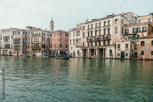 In de dag Poort Venezia Port Water Buildings