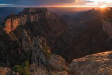 Grand Canyon Stormy Sunset