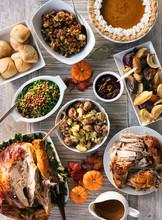 Thanksgiving: Feast Of Turkey ...