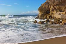 Pacific Coastline With Steps O...