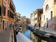 20.06.2017, Venice, Italy: View of historic buildings and canals