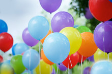 Balloons Of Different Colors F...