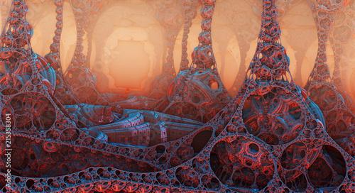 fantazyjny-las-z-obiektow-3d-z-gleboka-perspektywa