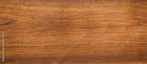 Fényképezés  Walnut wood texture