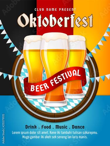 OKTOBERFEST FLAG 5/' x 3/' Bavaria German Germany Beer Festival Bar Pub Club