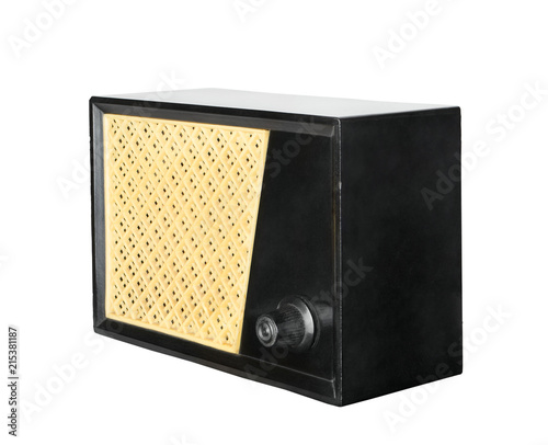 Fotografija  Subscriber radio broadcasting receiver loudspeaker