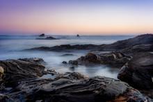 Sunset At Little Corona Del Mar #1