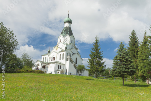 Foto op Canvas Oost Europa Slovakia, Medzilaborce, Orthodox St Spirit Church
