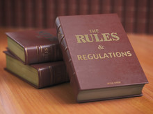 Rules An Regulations Books Wit...