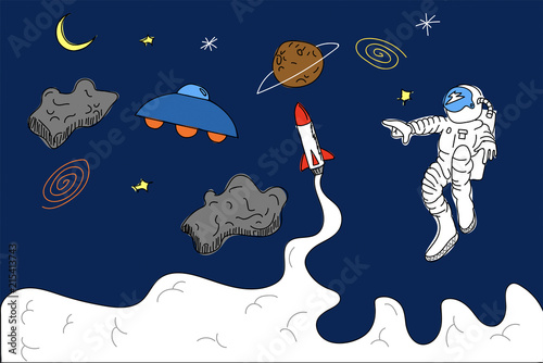 Obrazy dla dzieci dzieci-w-kosmosie