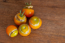 Split, Cracked Tomatoes Due To...