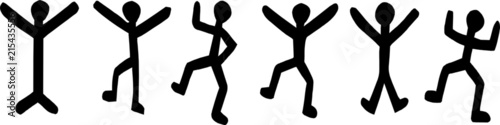 "Photo ""HOLMES"" Dancing Men Code - Sherlock Holmes"