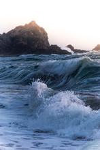 Waves Crashing At Point Reyes