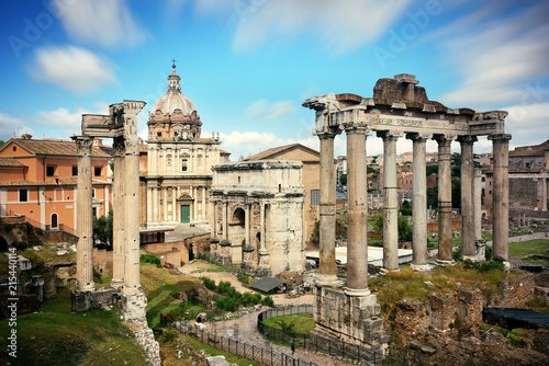 Foto op Canvas Rome Rome Forum