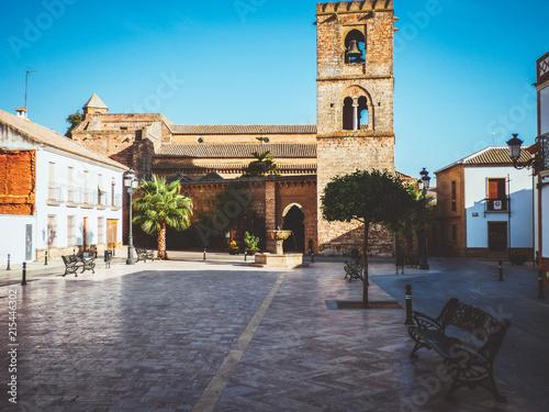 Niebla,. Pueblo de Huelva amurallado. Andalucia,España
