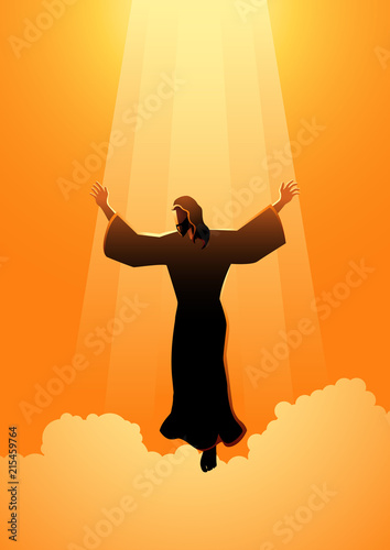 Photo The ascension day of Jesus Christ