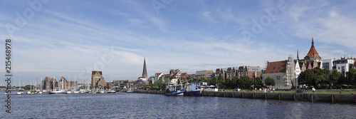 Fotografía  Rostock cityscape, Germany