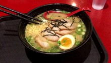 Ramen Noodle Bowl With Pork, E...