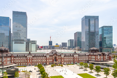 In de dag Aziatische Plekken 東京駅