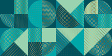 Geometric Luxury Seamless Pattern For Background, Wrapping Paper,