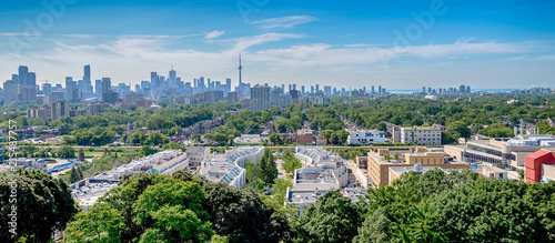 Canvas Print View of Toronto, Canada