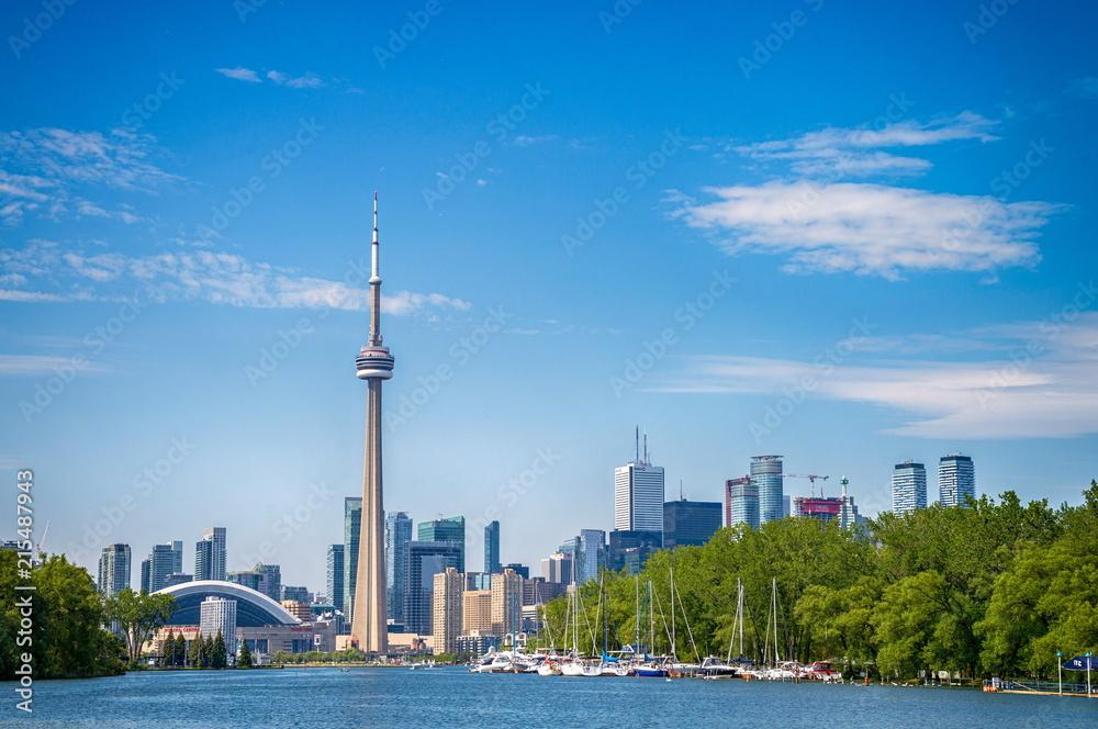 Fotografie, Obraz Skyline of Toronto in Canada